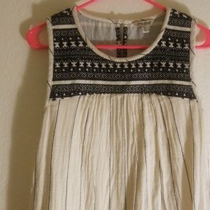 Lucky Brand Embroidered Sheath Dress